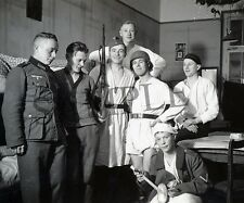 "German Soldiers funny pose in barracks 8""x 10"" World War II WW2 Photo 12p"