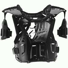 Thor NEW Mx Quadrant Black Youth Motocross Chest Protector Kids Body Armour