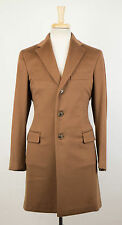 New. BELVEST Camel Brown Cashmere Blend Coat Size 54/44 R Drop 8 $2795