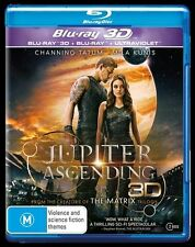 Jupiter Ascending 3D + 2D Blu-Ray : NEW Blu-Ray 3D