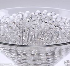 10 PKS CLEAR WATER AQUA SOIL BIO CRYSTALS GEL BALL BEADS WEDDING