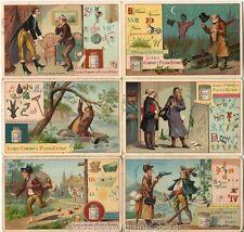 Chromo Liebig Sang. 323 TED Rebus VI ANNO 1891