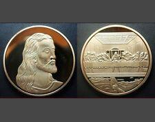 Jesus Christ LAST SUPPER Icon Da Vinci Commemorative Good Luck Medal Coin