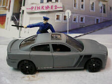 2014 POLICE PURSUIT Exclusive '11 DODGE CHARGER R/T 2011☆gray☆LOOSE☆Hot Wheels