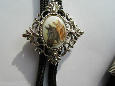 Bolo tie horse head country and western rock and roll wear stagewear