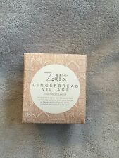 Zoella Lifestyle Gingerbread Village Fragranced Candle Brand New