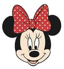 "Minnie Mouse Head Iron On Transfer 5 ""x 5.25"" for LIGHT Colored Fabric"