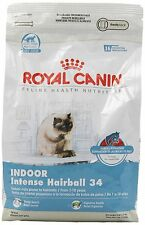 Royal Canin Dry Cat Food, Intense Hairball 34 Formula, 3-Pound Bag , New, Free S
