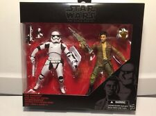 "STAR Wars Nero Serie 6"" POE dameron & e ANTISOMMOSSA Stormtrooper Twin Pack"