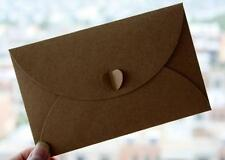 100PCS 17.5CM*11CM Big Vintage Paper Envelope for Wedding Invitation