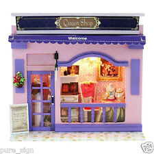 DIY Handcraft Miniature Project Kit The European Luxury Fashion Shop Dolls house