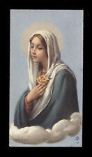 """santino-holy card""""""""ediz. FB** n.14 ROSA MISTICA"""