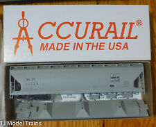Accurail HO #2104 Western Pacific (ACF 3-Bay Cov'd Hopper Kit)Feather River Logo