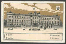 Ca 1904 PPC* GREAT BRITIAN ROYAL PALACE RESIDENCE IN LONDON GOLD LEAF TYPE MINT