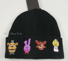 Five Nights At Freddy's Fazbear's Pizza Characters Watchman Knit Beanie Hat Cap