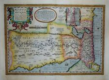 1603 Ortelius Map ANCIENT EGYPT Scholarly, Detailed & Decorative FINE EXAMPLE!