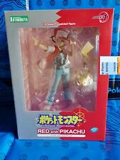 Kotobukiya ARTFX J Pokemon Series Red with Pikachu 1/8 Figure Authentic Nintendo