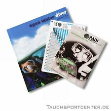 PADI Open Water Diver OWD Manual + RDP, Tabellenversion, German