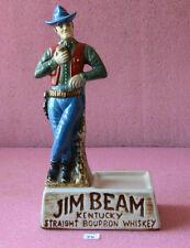 Jim Beam Whiskey Empty Liquor Bottle Decante_#75