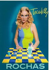 "Publicité Advertising 1997 Parfum ""Tocadilly"" de Rochas"
