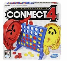 Connect 4 Original Hasbro Game FREE SHIPPING NEW Four Held Board Hand Games Four