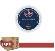 DAILY DEAL : Keurig 48 Count k-cups TIMOTHY'S BREAKFAST BLEND Coffee