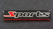 SPORTS Badge RALLIART MUGEN STI TRD MAZDASPEED NISMO TURBO SPORT