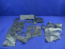 14 Kawasaki ZX10 Heat Shield Set  ZX10R ZX 10 Ninja #217 Cover Mat Protector