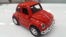 lustiges vw käfer rot automodell Hell & klang 1/38 maßstab modell druckguss