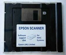 Soporte de Software de escáner Epson disquete Software Mac Vintage