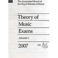 Theory Of Music Exams Grade 3 Past Practice Papers 2007 ABRSM S09