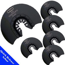 6X Saw Blade Oscillating Multi Tool Craftsman Bolt On  Dremel Fein Bosch Dewalt
