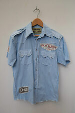 """OLD GLORY MENS SHORT SLEEVE CASUAL COLLARED SHIRT SIZE S - 36 to 38"""" -  J"""