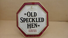 Morland Old Speckled Hen Ale Beer Pump Clip Bar Collectible with fixings