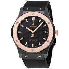 Hublot Classic Fusion Mat Carbon Fiber Dial Automatic 18 Carat King Gold Watch