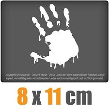 Zombie Hand 8 x 11 cm JDM Decal Sticker Aufkleber Racing Die Cut
