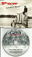 PAW Couldn't Know w/ RARE FADE 1993 USA PROMO DJ CD single Jewel box version