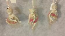 *NEW* 3 Katherine's Collection Ballerina Ballet Ornament Christmas Dancing Tree