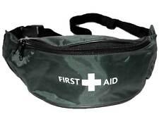 Verde De Primeros Auxilios Bum Bag (unkitted) para los deportes St John Medic médico primero aider