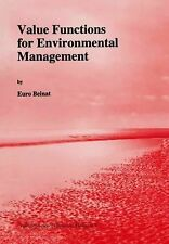 Value Functions for Environmental Management 7 by E. Beinat (2012, Paperback)