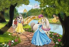 Papier peint photo mural PRINCESSE ROYAL GALA DISNEY chambre d'enfants