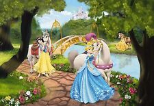 Wall mural photo wallpaper PRINCESS ROYAL GALA DISNEY kids room NURSERY DECOR