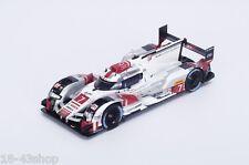 SPARK SJ037 Audi R18 e-tron Quattro LMP1 HY n°7 3rd 6h of Fuji 2015 Fässler 1/43