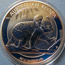 AUSTRALIA, 2016  KOALA SERIES SILVER COINS, .999%1 Oz Brilliant Uncirculated #3