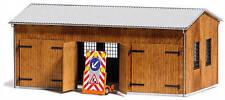 BUSCH 1456 - H0 Fahrzeughalle Modellbausatz   1:87
