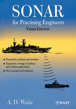 Sonar for Practising Engineers 3e, Waite, A. D., New Condition