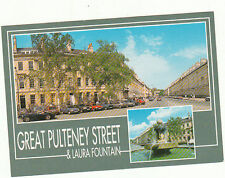 Unused  Postcard Somerset, Great Pulteney st & Laura fountain, Bath