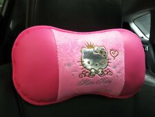 Hello Kitty Car Accessory : 1 piece Neck Rest Cushion Head Pillow #07 Pink