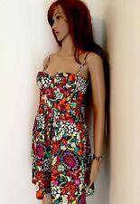 Moda Victoria Secret Dress Floral Spaghetti Strap Above Knee Size  XS