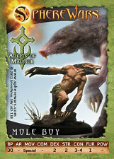 Sphere Wars Mole Boy B Adepts of Malesur Malesur metal miniature new